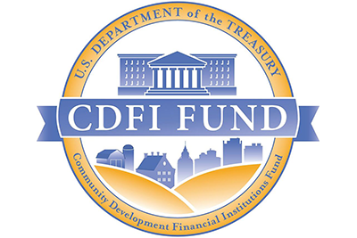 Logo of the Community Development Financial Institutions program