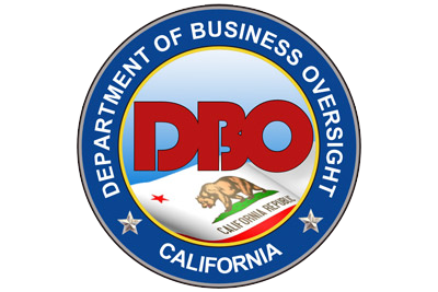 California's Department of Business Oversight (DBO) will be renamed the Department of Financial Protection and Innovation.