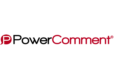 Logo for Power Comment website