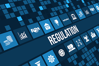 "Image of the word ""regulation"""