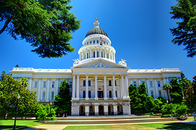 California State Legislature building
