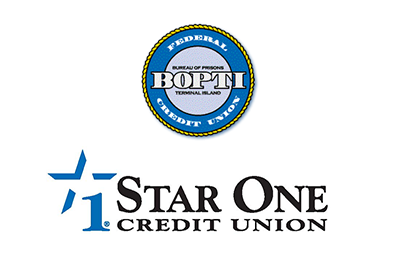 Image of logos for Star One Credit Union and BOPTI Federal Credit Union