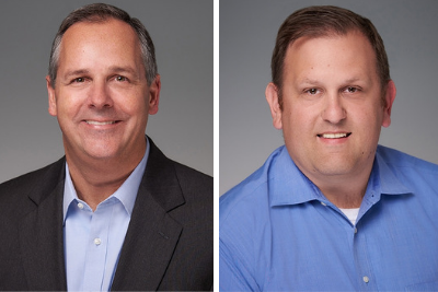 L-R: Jay Johnson, Chief Collaboration Officer for Callahan and Associates; and Jon Jeffreys, President and CEO of Callahan and Associates