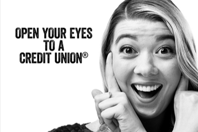 "Image of ""Open Your Eyes"" campaign advertisement"