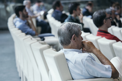 Image of breakout session attendees