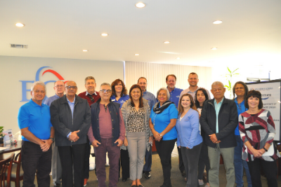 Costa Rican credit union group visit