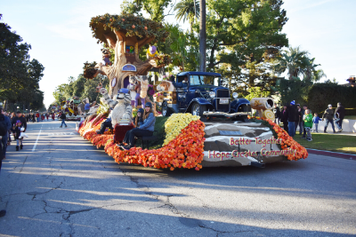 Wescom CU Rose Parade Float