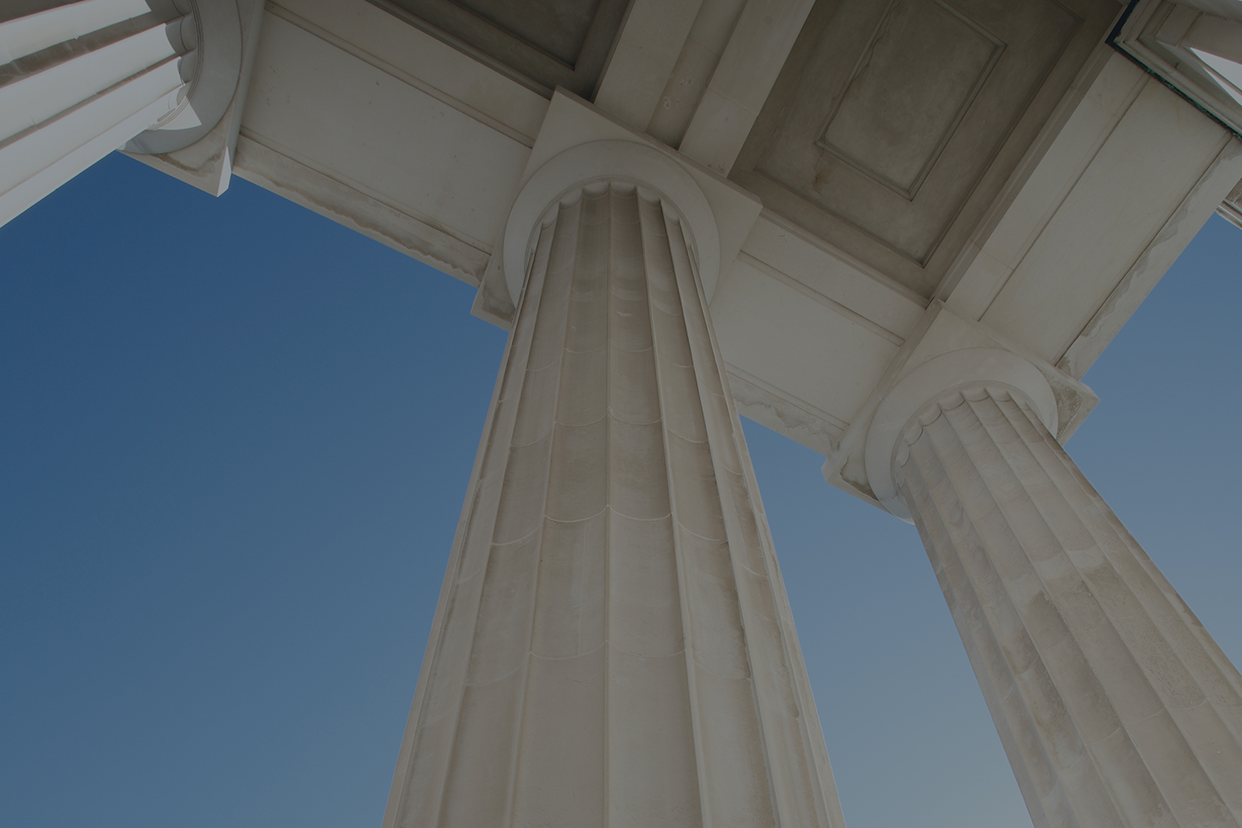 Capitol building pillars