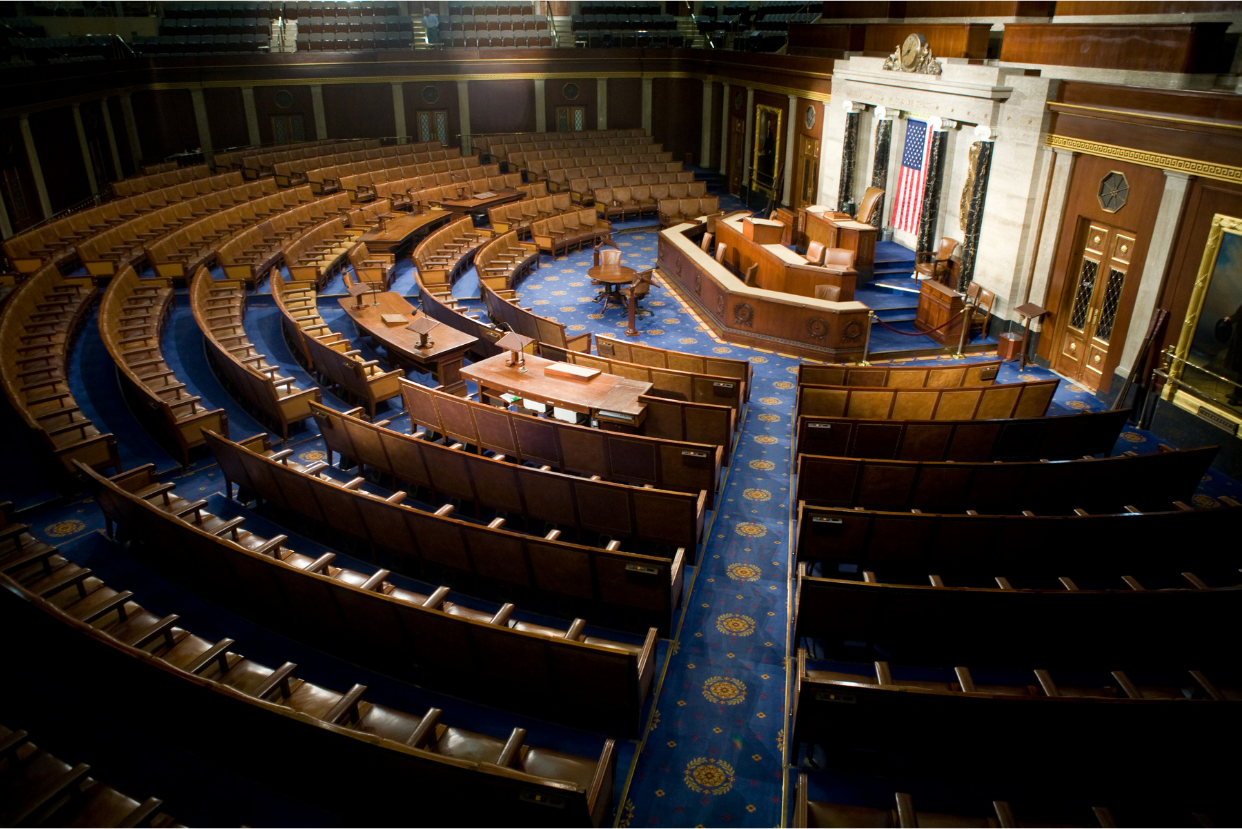 Congressional chamber